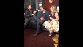 Миша Коллинз, mark and misha interview with et at sdcc
