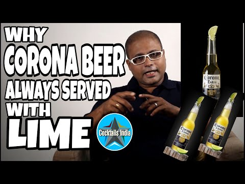 Why Corona Beer served with lemon | Corona and lemon | dada bartender