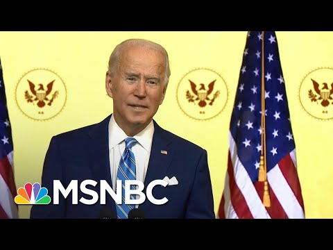 Biden Sympathizes With Those Who Lost A Loved One To Covid During Thanksgiving Address | MSNBC