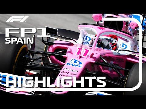 F1 2020 第6戦スペインGP(カタルニアサーキット)フリープラクティスハイライト動画