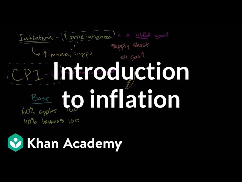 A thumbnail for: Inflation - measuring the cost of living