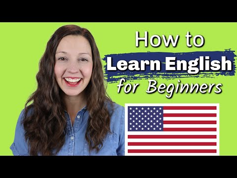 How to Learn English: for Beginners!