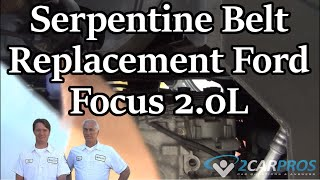 Serpentine Belt Replacement Ford Focus
