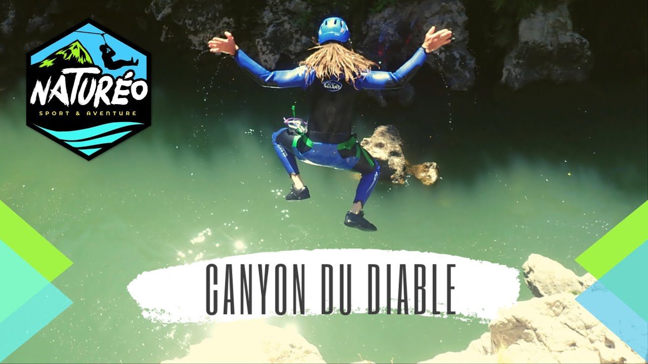 Canyon du diable partie basse Teaser - Naturéo Sport Aventure - 2020