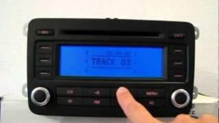 Volkswagen Radio RCD300 Code En Basics Beheren - Instellingen RCD300