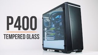 Phanteks P400 Tempered Glass... The Best Glass Case for $89!