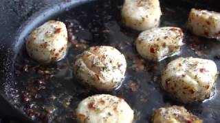 Spicy Scallops
