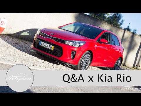 Neuer Kia Rio: Eure Fragen - Fabian antwortet (Kofferraum, Automatik, Platzangebot) - Autophorie
