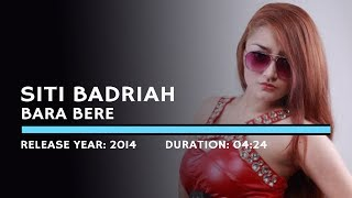 Gambar cover Siti Badriah - Bara Bere (Lyric)