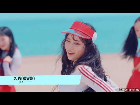 Trick's Top 100 K-pop Songs of 2018 in 5 Minutes!