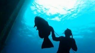 Spearfishing Monster Grouper in Cozumel - Ted's HoldOver