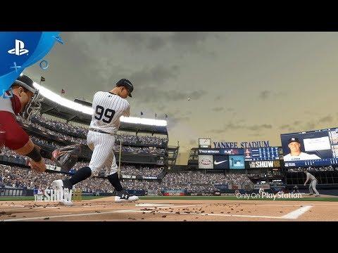 Première bande annonce de gameplay de MLB The Show 18