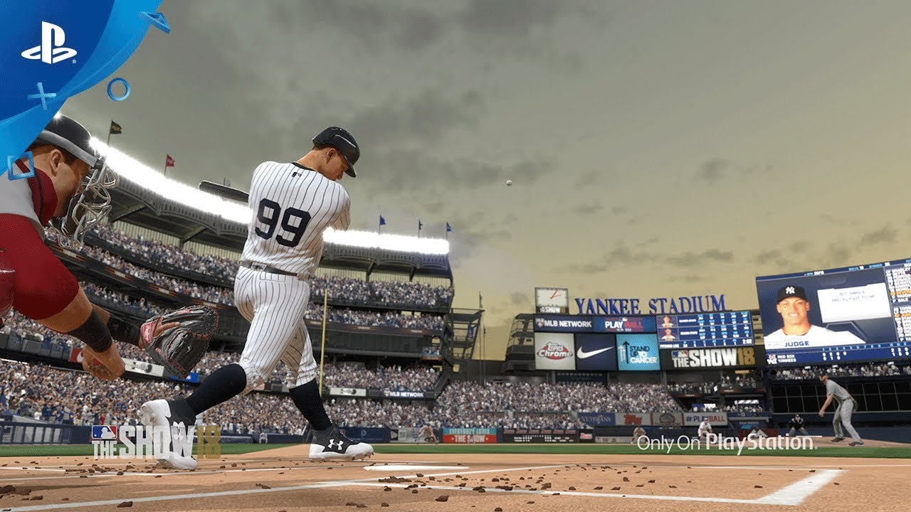 MLB The Show 18 Gameplay Trailer Revealed
