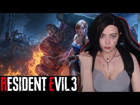 Обзор игры Resident Evil 3 Remake прохождение на русском | косплей