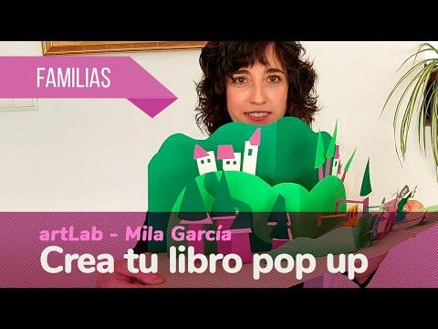 """#CIVICANencasa Familias ArtLab: """"Crea tu libro pop up"""". Mila García, artista plástica."""