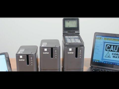 BrotherPT-950NW Imprimante d'étiquettes laminées avec connectivité réseau