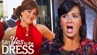 Bridesmaids Mock Brides Preppy Dress Choices | Say Yes To The Dress: Bridesmaids