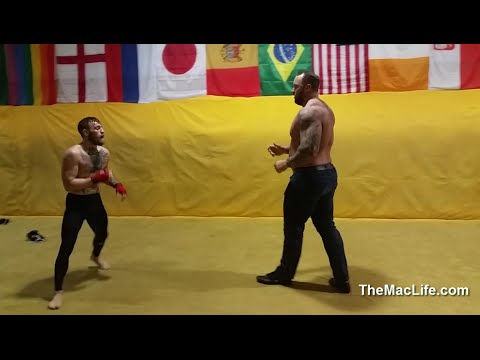 Conor McGregor Fights The Mountain In Real Life