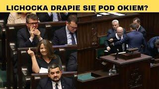 Gorąco w Sejmie: 2 miliardy dla TVP, gest Lichockiej, próba odwołania Kamińskiego