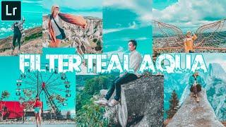 [EASY] Filter Teal Aqua   Lightroom CC Mobile