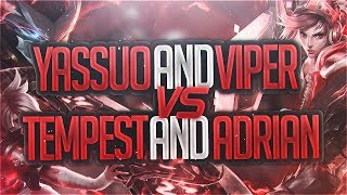 Yassuo | BEST YASUOS AND RIVENS IN NA VS EACH OTHER Ft. Viper, Adrian, and Tempest