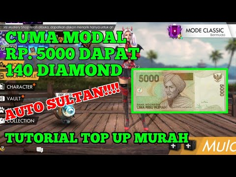 PROMO BELI DIAMOND SUPER MURAH Cuman Modal 5.000 Dapat 140 Diamond Free Fire