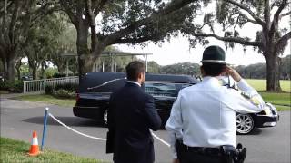 CONGRESSMAN C W BILL YOUNG FUNERAL ST PETE FLA oct 24 2013