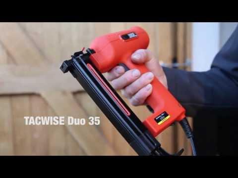 Grapadora Electrica  TACWISE Duo 35