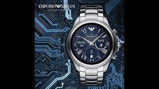 UNBOXING Emporio Armani Connected - Touchscreen Smartwatch