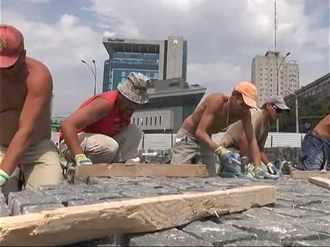 Работы в сквере на площади Свободы завершаются