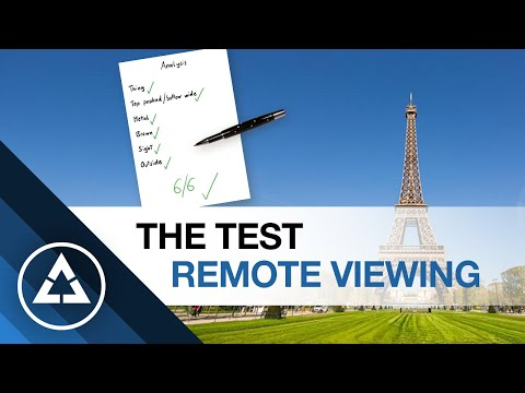 Remote Viewing Test | Check | Quality