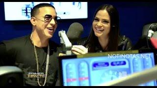 Entrevista a Daddy Yankee y la Dominicana  Natti Natasha