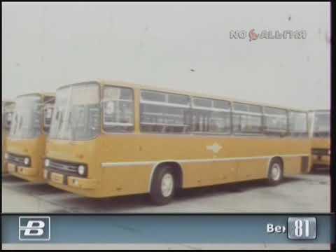 """Венгрия. """"Икарус"""". Сборка автобусов для экспорта в СССР 10.08.1981"""