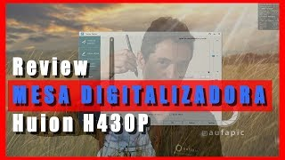 mesa digitalizadora huion inspiroy pen tablet h430p - मुफ्त