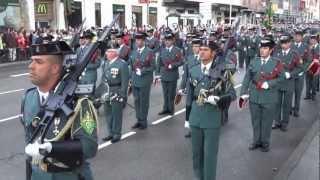 Spanish National Day Parade 2012 | Kholo.pk