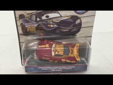 Disney Pixar Cars LOT 8 VOITURES Thomasville Racing Legends (reb,cal,chip,herb..