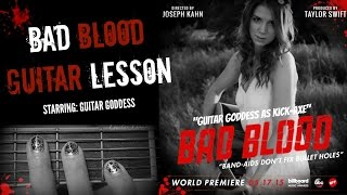 Bad Blood - Taylor Swift Guitar Lesson