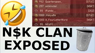 VVaby EXPOSES THE N$K CLAN.. 🤮 (COD WW2)