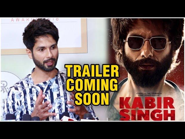 Shahid Kapoor REVEALS Details About Kabir Singh