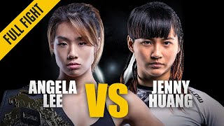 Angela Lee vs. Jenny Huang - Best Of ONE Championship