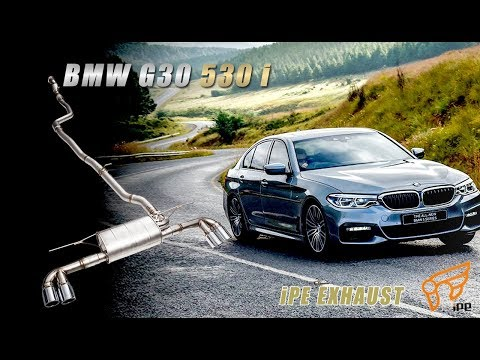 The iPE Exhaust for BMW 520i / 530i (G30 G31)