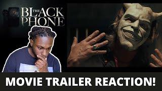 THE BLACK PHONE // Movie Trailer Reaction