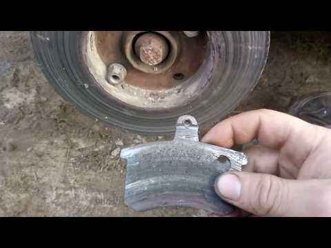 Шлифовка  тормозного диска своими руками