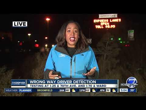 CDOT testing new wrong way driver detection