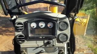 How to drive a Caterpillar bulldozer D6K