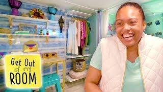 Sister Gets DREAM DANCE STUDIO In Her Bedroom! 💃🤩 | Get Out Of My Room | Universal Kids