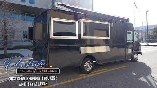 Big Smoke Burger Food Truck Built By Prestige Food Trucks