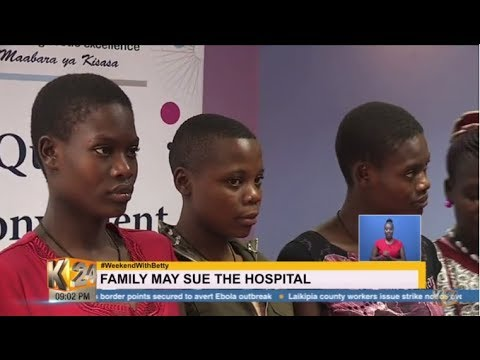 SEPARATED AT BIRTH: DNA tests reveal Kakamega girls are twins