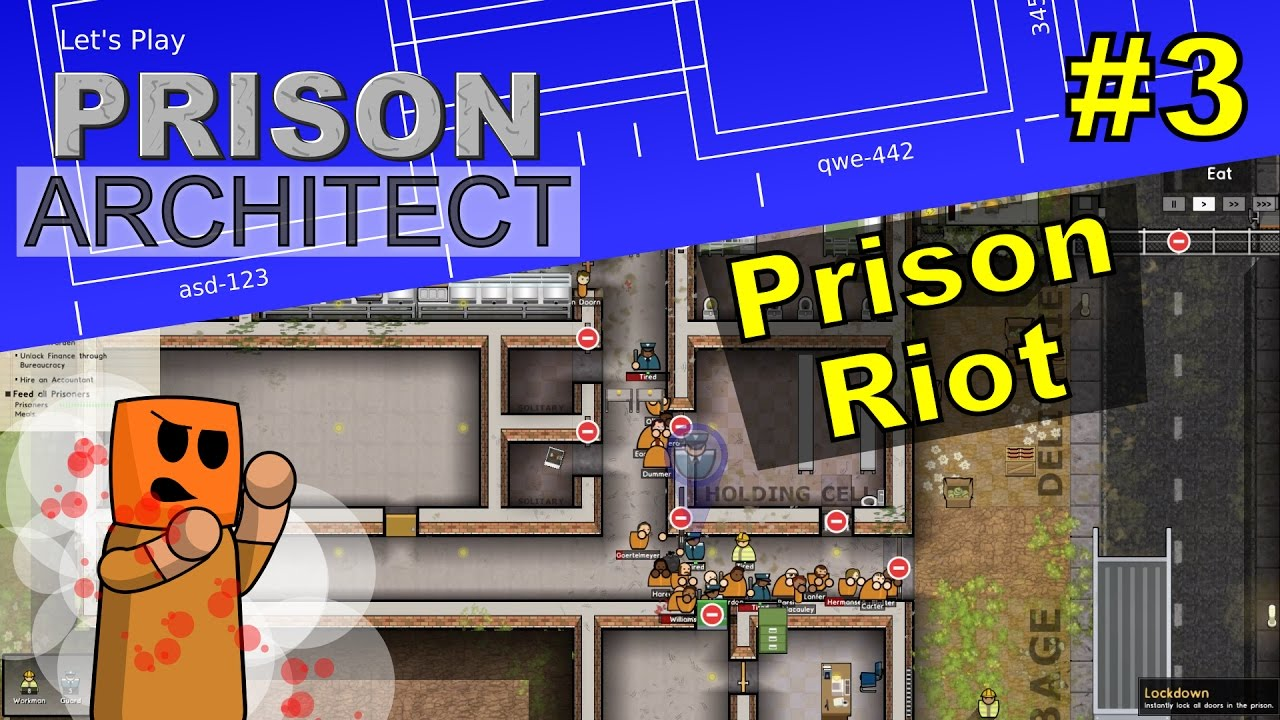 Prison Architect #3 | Prison Riot