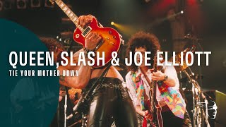 Queen & Slash/Joe Elliott - Tie Your Mother Down (The Freddie Mercury Tribute Concert)
